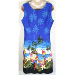 Pacific Legend Apparel Dresses - PACIFIC LEGEND Hawaiian Aloha Sheath Dress 1274E1